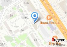 Компания «Енисейтелеком» на карте