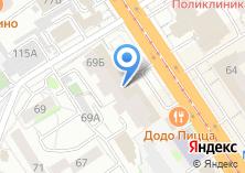 Компания «Пинкус» на карте