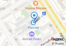 Компания «Барсук» на карте