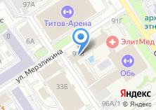 Компания «Алтайская краевая федерация плавания» на карте