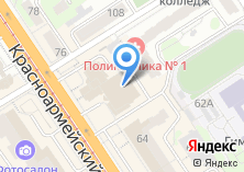 Компания «ПРОСТОР Телеком» на карте