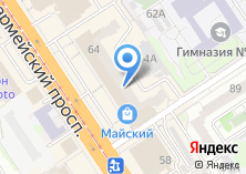 Компания «Магазин нижнего белья и чулочно-носочных изделий» на карте