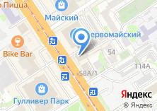 Компания «ZooМир» на карте