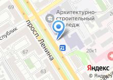 Компания «Роспечать Алтай торговая сеть печатной продукции» на карте