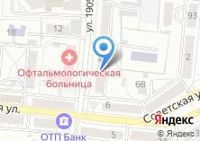 Компания «Сибирская Сберегательная Касса» на карте