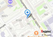 Компания «Рекламные технологии» на карте