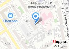 Компания «СТО ОДИН» на карте