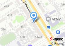 Компания «АКБ АлтайБизнес-Банк» на карте