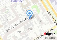 Компания «Территориальный орган Федеральной службы государственной статистики по Алтайскому краю» на карте