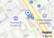 Компания «ВТБ24 Лизинг» на карте