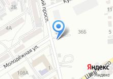 Компания «Автостоянка на Молодёжной» на карте