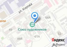 Компания «Кавырбот» на карте
