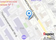 Компания «Мастерская по ремонту обуви на Комсомольском проспекте» на карте