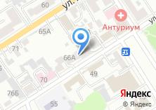 Компания «Главпроект» на карте