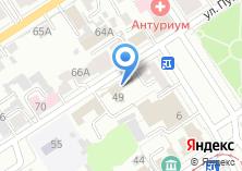 Компания «Автогород» на карте