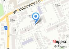 Компания «Участковый пункт полиции Отдела полиции №4 УВД по г. Барнаулу» на карте