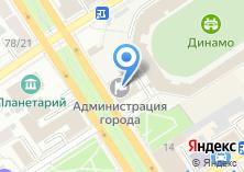 Компания «Комитет по кадрам и муниципальной службе Администрации города Барнаула» на карте