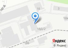 Компания «Автоворота» на карте