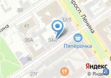 Компания «ИНЭП» на карте