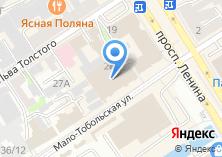 Компания «Этнис» на карте