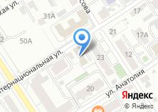 Компания «Барнаульское маршрутное телевидение» на карте