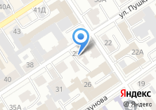 Компания «Гамма-Алтай» на карте
