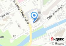 Компания «Продуктовый магазин на ул. Максима Горького» на карте