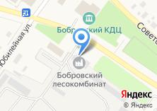 Компания «Бобровский лесокомбинат» на карте