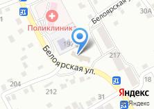 Компания «АДЕЛИЯ» на карте