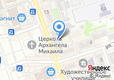 Компания «Магазин нижнего белья и колгот» на карте