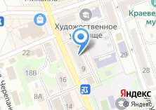 Компания «Признание» на карте