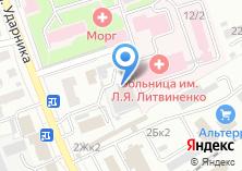Компания «Рубеж» на карте