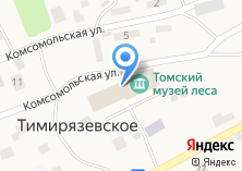 Компания «Лесная» на карте