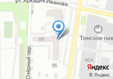 Компания «Командор Томск фабрика мебели» на карте
