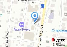 Компания «Потенциал» на карте