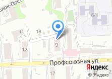 Компания «Локоны» на карте