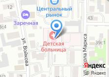 Компания «Областная детская больница» на карте