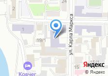 Компания «Томский лесотехнический техникум» на карте