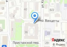 Компания «VIP-курьер» на карте