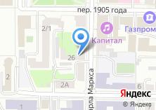 Компания «Архивное управление Томской области» на карте