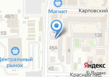 Компания «Мир шашлыков» на карте