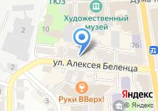 Компания «Окнапроф» на карте