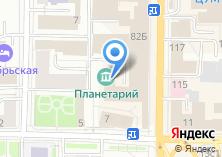 Компания «Узбекистан» на карте
