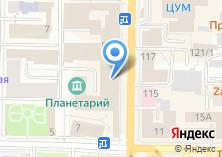 Компания «Детский универмаг №1» на карте