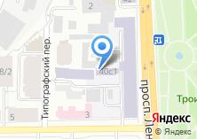 Компания «ТомскЭлектро» на карте