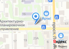 Компания «Terex 970» на карте
