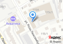 Компания «Диваны тут» на карте