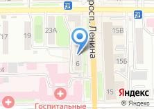 Компания «Maglena салон-ателье» на карте
