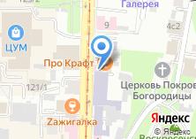 Компания «Кооперативная» на карте