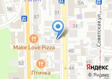 Компания «XXL» на карте